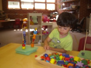 Fine Motor Skills Development at Creekside Kids