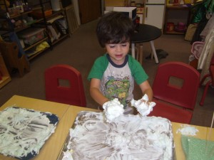 Sensory Play at Creekside Kids
